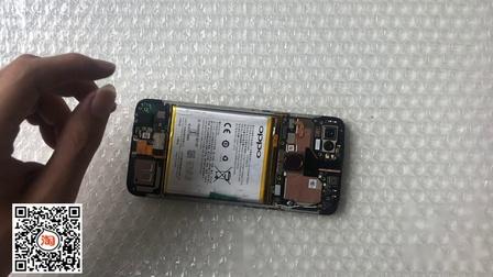 OPPO A7X换带框屏教程 A7 A9 A9X A11 A11X更换手机屏幕 维修手机屏幕视频拆解