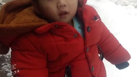 2018+12-30  王俊凯第一次看见雪