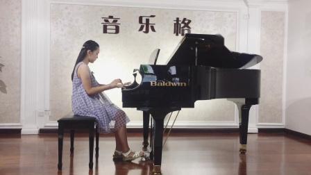 赵楚尔--李斯特《狩猎》上音钢琴十级