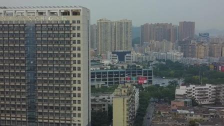 航拍深圳宝安区中心医院2020.9.3