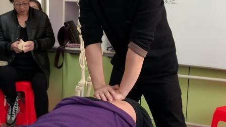 中医正骨推拿治疗腰椎曲度过大手法讲解