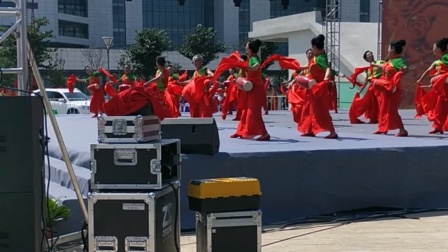 2020平度第七届广场舞大赛复赛一等奖《东方红》