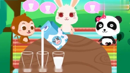 宝宝巴士:吃蛋糕,喝牛奶,我们来野餐