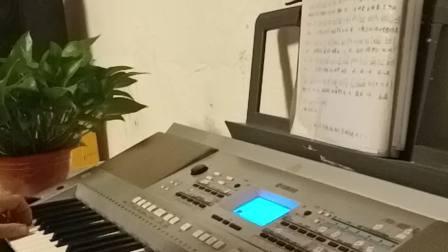 南泥湾。卡拉,OK,伴奏。经典歌曲,电子琴演奏。