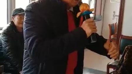 穆家口业余剧社王西印倝克安演唱智取威虎山选段,京胡李明武,司鼓王作祥,