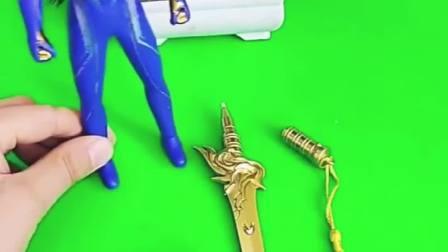 乔治的宝剑坏了,奥特曼送乔治奥特宝剑