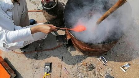 黑龙江中医黑膏药爱好者在诸城培训炼油下丹工艺实录