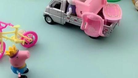 瑞贝卡自己的小车不要了吗,乔治看到也很喜欢啊,他会给乔治吗?