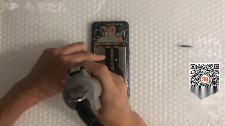 VIVO NEX换屏教程 NEXA换屏幕视频教程 无框 拆机更换手机屏幕 维修手机拆后盖