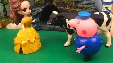 一头牛挡住了贝尔公主的去路