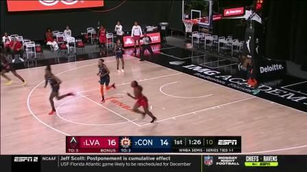 【WNBA】2020季后赛半决赛G3 拉斯维加斯王牌vs康涅狄格太阳 9.24