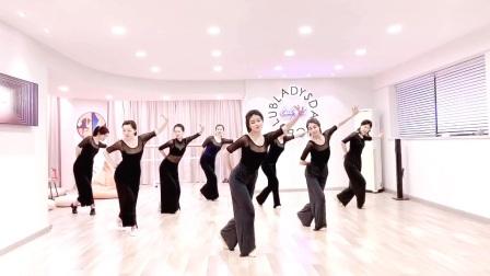 青岛古典舞身韵盘手组合