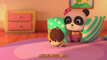 宝宝巴士:搞笑宝贝哭了别着急可爱玩具来陪你,换好尿不湿神清气爽真开心