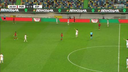 10月8日足球友谊赛葡萄牙vs西班牙全场(SKY英语)