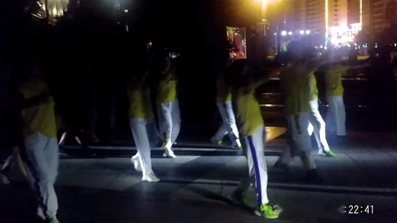 幸福在哪里--城南公园曳步舞