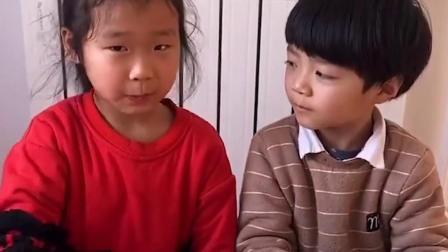 童年趣事:弟弟把姐姐的习惯剪断啦