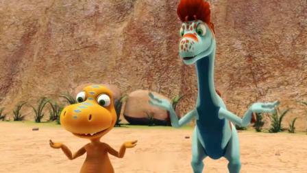 恐龙火车:泰妮替爸爸解释,他却不好意思,太有趣了!