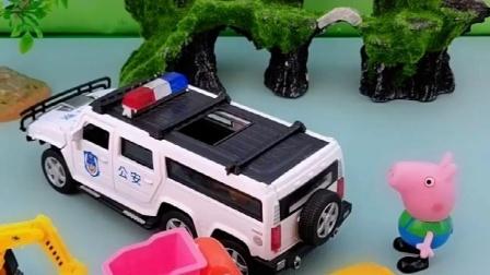 乔治已经有自己的车子,是不是猪爸爸买的呀,猪妈妈会帮忙开走?