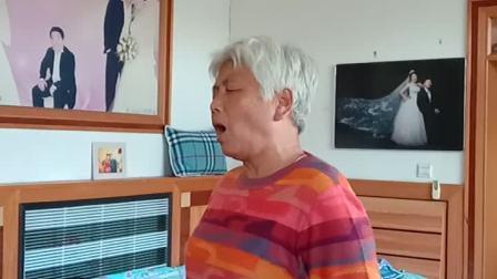 穆家口业余剧社樊姐演唱霸王别姬选段,京胡李明武,司鼓王作祥