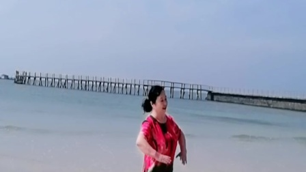 北海银滩海边游玩!