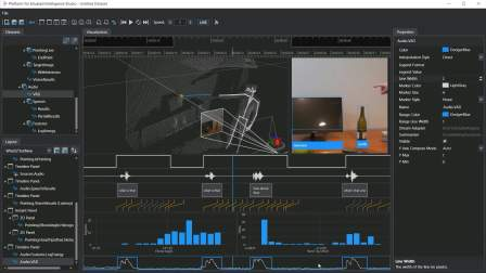 A video of various visualizers in Platform for Situated Intelligence Studio