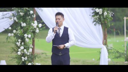冯飞草坪婚礼