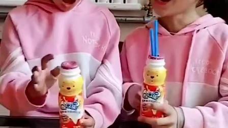 童年趣事:你怎么不盒牛奶呀