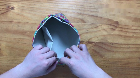 方形二片式 口金包制作教程