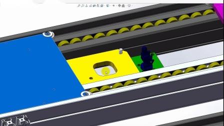 倍速链流水线的托盘怎么实现准确定位?阻挡气缸和逆止器如何选型?.wmv