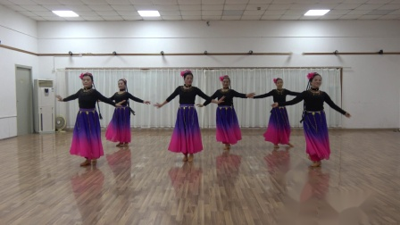 新疆舞《亚丽古娜》 月亮,云云,巧桂,雯雯,迎博,健娜