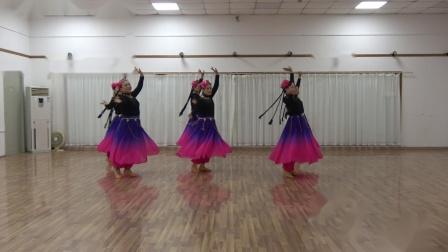 新疆舞《亚丽古娜》  习舞  惠云,阿兰,小华,娅娅,荣美,凤子