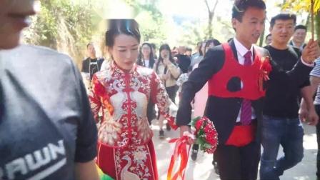 侯科科与李晶的婚礼