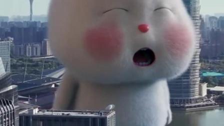 兔小胖巨型宝宝,好可爱呀