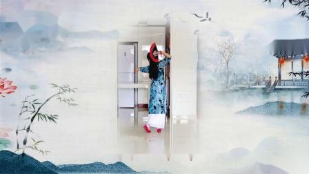 旗袍美人 古典小扇舞 〖背面〗曾惠林舞蹈系列
