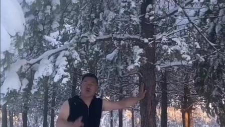 笑天的一首《伤心的雪花》