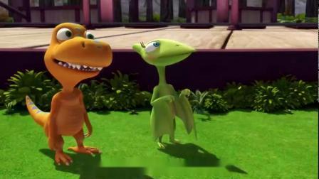 恐龙火车:泰妮喜欢国王,却让他跑了,居然在这唱歌!
