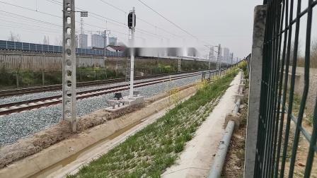 20200322 132645 西成高铁G308次列车出汉中站