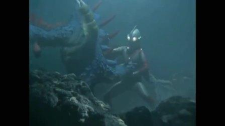 杰克奥特曼:强忍被刺穿肚子,也要下水对战灵魂怪兽弗米格