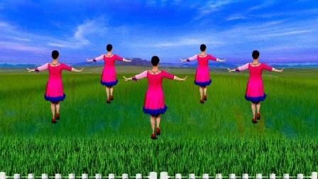 我在大众健身广场舞《相思草》听悠扬的歌声 跳优美的舞步截了一段小视频