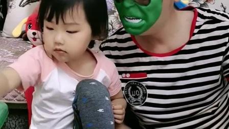 少儿益智:爸爸和宝贝一起玩小恐龙