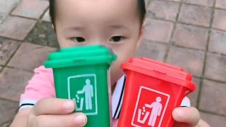 童年趣事:妈妈这是垃圾桶还是糖果?