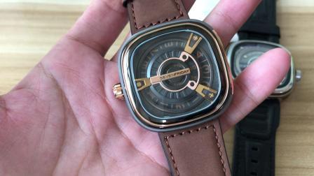原单sevenfriday  潮牌时装腕表 全套包装