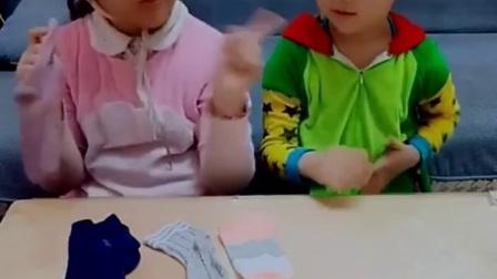 童年趣事:到底是谁的袜子那么臭呢