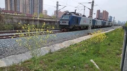 20200404 153203 阳安线HXD2双机出汉中站