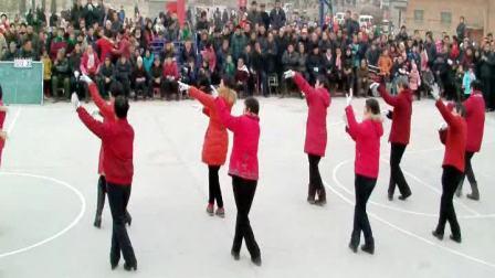 2013-2014年邙岭镇省庄村舞蹈队演出实况2