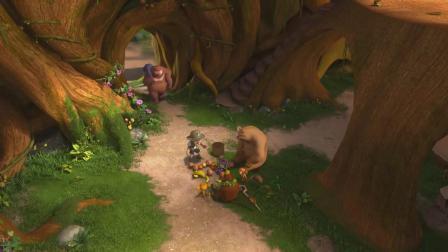 熊出没:熊大对于熊二的意义,如兄如父!