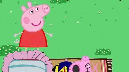 猪爸爸这是怎么了,佩奇很着急,小朋友快来看看