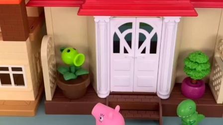 小猪佩奇消防车救援的故事
