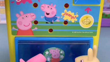 小猪佩奇的旋转木马玩具