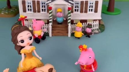 小猪佩奇精彩玩具小故事